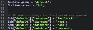 codeigniter multiple environments